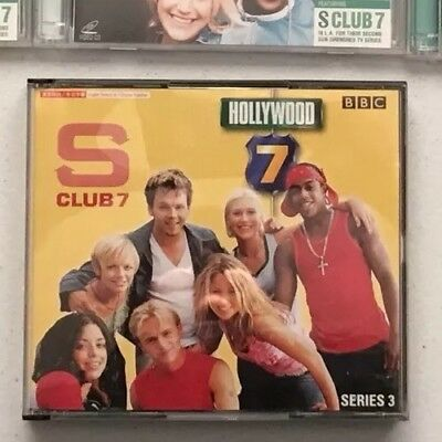 S CLUB 7 - TV SERIES VCD - Hollywood 7 (Episodes 1-13) Like New RARE