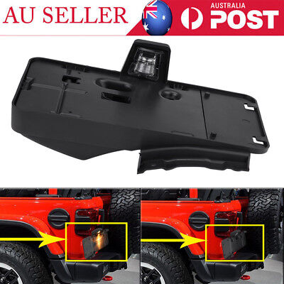License Number Plate Frame Holder & Light Mounting Hardware for Jeep Wrangler AU