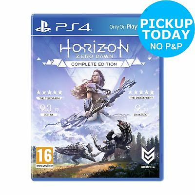 Horizon Zero Dawn: Complete Edition Sony Playstation PS4 Game 16+ Years