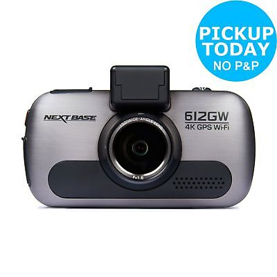 Nextbase 612GW 4K Ultra HD 3 Inch Screen GPS Night Vision G-Sensor WiFi Dash Cam