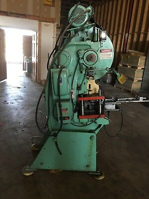 Benchmaster Wadsworth punch, press,