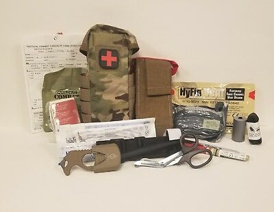Chinook Med First Aid Kit (Ifak) - Multicam - Fully Stocked - Combat Life Saver
