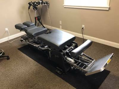 Chiropractic Zenith II HiLo Table with Pelvic Drop Gorgeous Black Beauty!!!