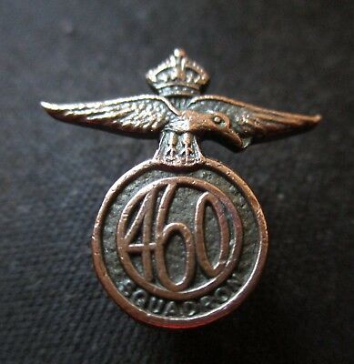 Collectable Royal Australian Airforce 460 Flying Squadron Badge Pin