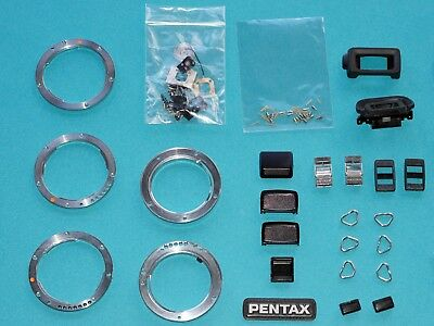 Vintage PENTAX bits-and-bobs - spare parts for lens & camera repair