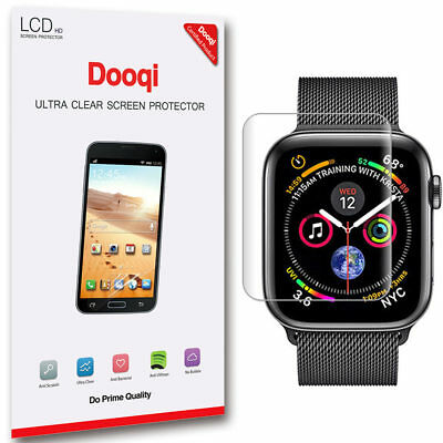 2X For Watch Series 4 40mm / 44mm Full Coverage HD Clear LCD Screen Protector