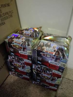7 boxes of 36 packages Slam Attax 10th Edition