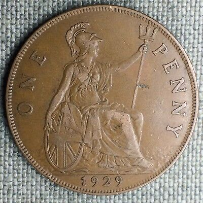 Great Britain Penny, 1929 - 1359