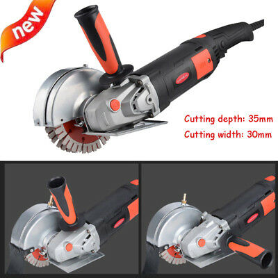 220V 35mm Electric Wall Chaser Groove Cutting Machine Slotting Machine 1800W CNC