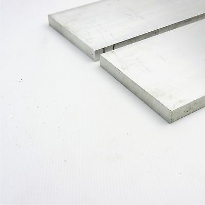 ".75"" x 6"" Aluminum Solid 6061 FLAT BAR 24.125""Long mill stock Pieces 2 sku A216"