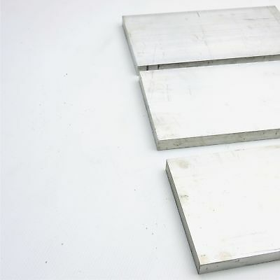 ".75"" x 6"" Aluminum Solid 6061 FLAT BAR 21.5""Long mill stock Pieces 3 sku A217"