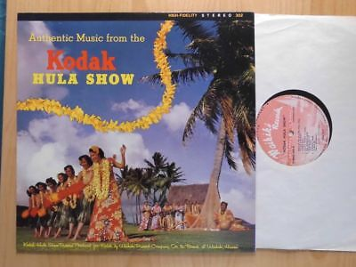 Authentic Music From The Kodak Hula Show Lp:  (Usa; Re; Lp 102)