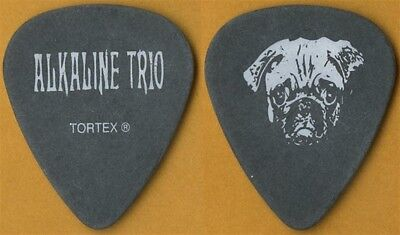 Alkaline Trio Matt Skiba authentic 2005 tour custom stage Guitar Pick Blink 182