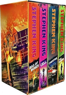 Stephen King Classic Collection 4 Books Set Pack Bag Of Bones, The Shining,Cell