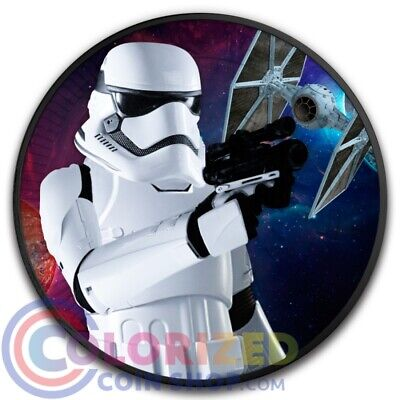 Niue 2 Nzd Star Wars Luke Skywalker 2017 1 Oz Silber Pp Eur 79