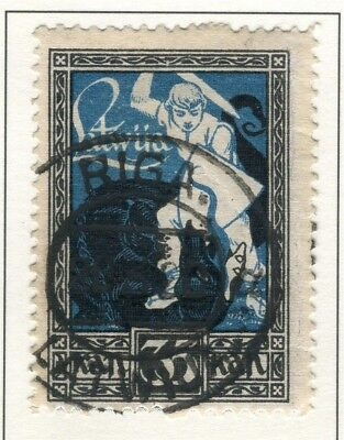 LATVIA; 1919 Courland issue fine used 35k. value Postmark
