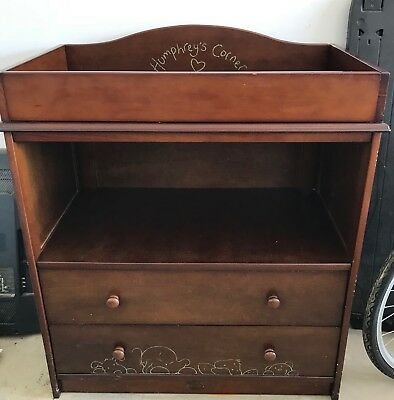 Humphreys Corner Change Table With Two Drawers