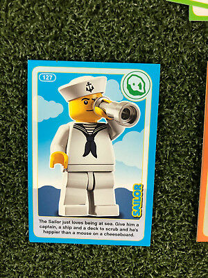 No 127 LEGO Sainsburys Create The World Incredible Inventions cards 127 all set