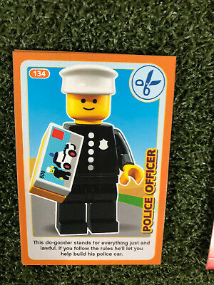 No 24 LEGO Sainsburys Create The World Incredible Inventions cards  024 all set