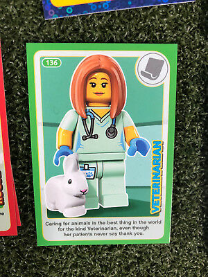 No 42 LEGO Sainsburys Create The World Incredible Inventions cards 042 all set