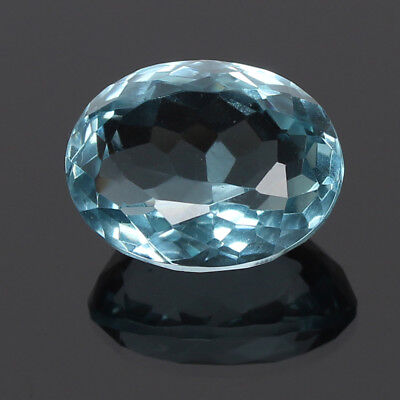 24.85 Ct. Natural Aquamarine Greenish Blue Color Oval Cut Certified Loose Gems