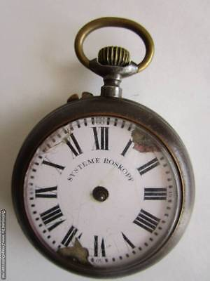 """Old pocket watch """"SYSTEME ROSKOPF"""" - for repair or parts !!!"""