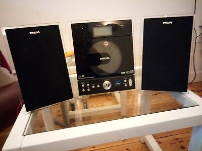 Philips MCM239D Mini HiFi system CD Radio MP3 player with remote control.