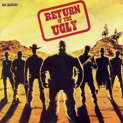 BAD MANNERS RETURN OF THE UGLY LP / Halloween Sale - Punk, Oi!, HC