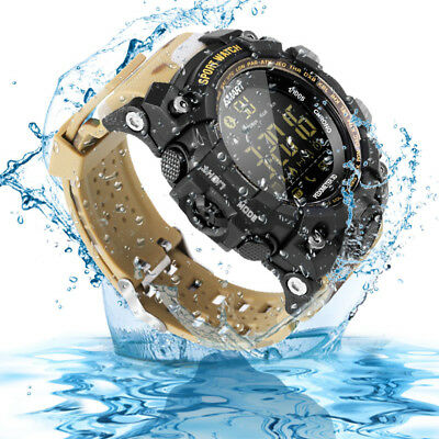Waterproof Bluetooth Smart Watch Wrist Phone Mate for Samsung Android iPhone iOS
