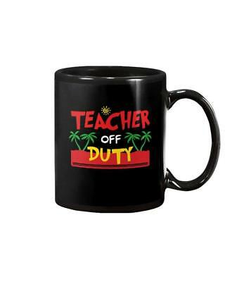 6fdd423c1e8 TEACHER OFF DUTY Gift DECAL ONLY 3