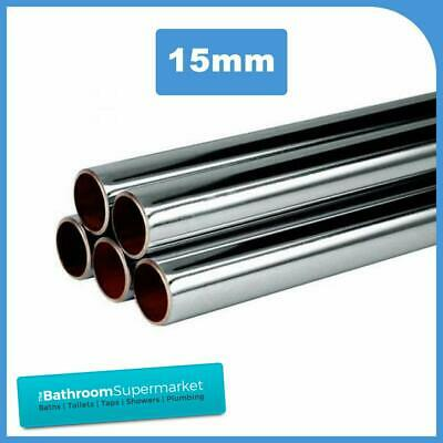15mm Chrome Plated Pipe/Copper Piping/ Different Lengths Available