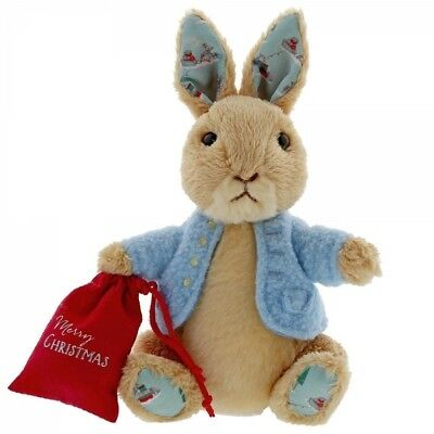 GUND Beatrix Potter Peter Rabbit Christmas (Small) Soft Toy