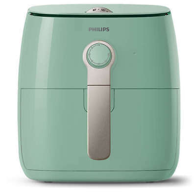 PHILIPS Viva Collection Airfryer HD9621/70 Heißluft Fritteuse 1425W, 800g mint