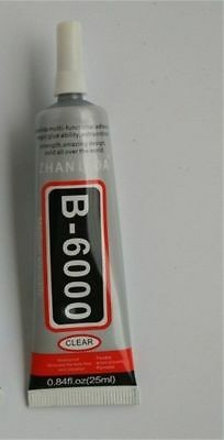 B-6000 Glue Industrial Adhesive For Phone Frame Bumper Jewelry Decoration 25ml