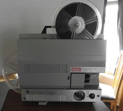 Eumig 510d dual standard variable speed 8mm movie film projector