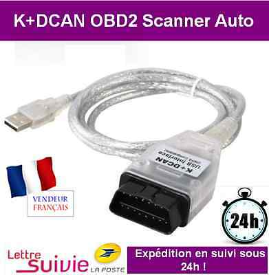 Interface Kabel K+Wz Obd Obd2 Bmw & Mini - Koffer Scanner Werkzeug Diagnostisch