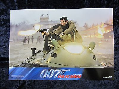 DIE ANOTHER DAY lobby card # KR4 -  PIERCE BROSNAN, HALLE BERRY, JAMES BOND 007