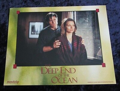 The Deep End Of The Ocean lobby card # 1 Michelle Pfeiffer, Treat Williams