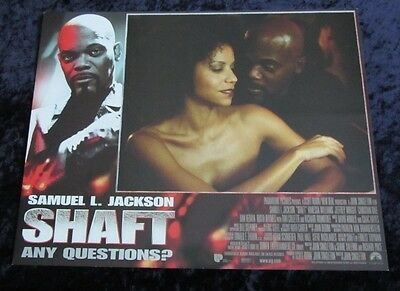 Shaft lobby card # 7 - Samuel L. Jackson - 11 x 14 inches