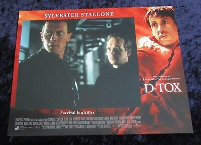 D-Tox lobby card # 8 - Robert Patrick - 11 x 14 inches