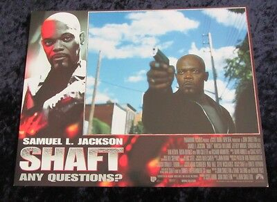 Shaft lobby card # 1 - Samuel L. Jackson - 11 x 14 inches