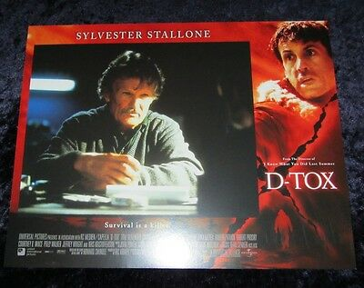 D-Tox lobby card # 2 - Kris Kristofferson - 11 x 14 inches