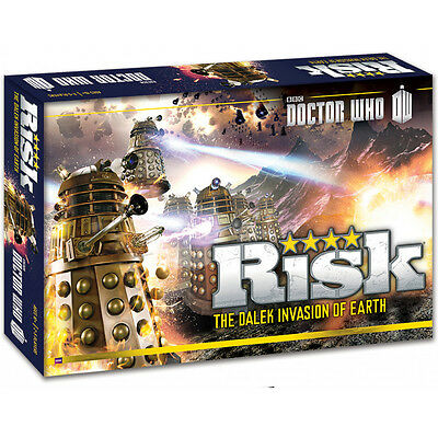 NEW Doctor Who Risk: the Dalek Invasion of Earth board game - SEALED