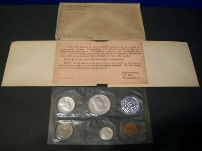 1961 Proof Set ~ Original Envelope With COA ~ US 90% Silver Mint Coin Set
