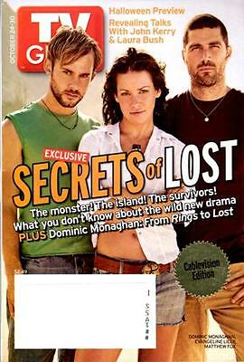 Tv Guide - Lost - Dominic Monaghan - Evagline Lily (The Wasp) & Matthew Fox