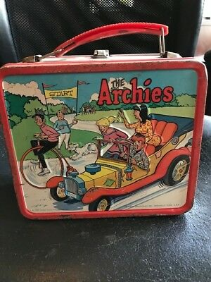VINTAGE Aladdin Industries, CO. METAL / TIN LUNCH BOX THE ARCHIE'S