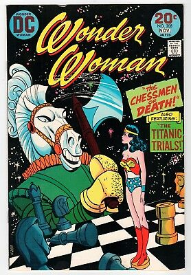 DC - WONDER WOMAN #208 - VF 1973 Vintage Comic