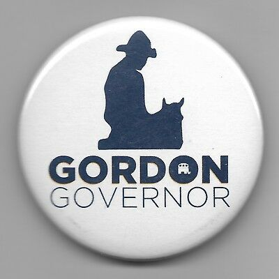 Another Official Button from Gordon Wyoming Governor 2018 Campaign