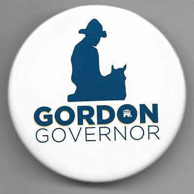 Third Official Button from Gordon Wyoming Governor 2018 Campaign