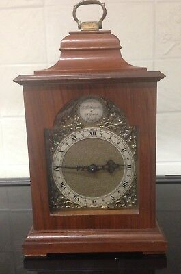 A Stunning English 8 Day Miniature Tempus  Fugit Bracket Clock ++L.l Angell++